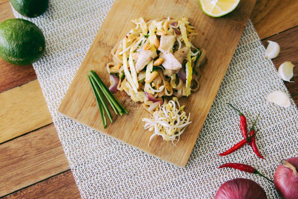 Recette : Pad Thai aux crevettes
