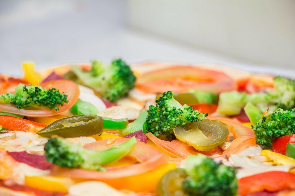 Recette express Boxia : la pizza aux légumes du soleil !