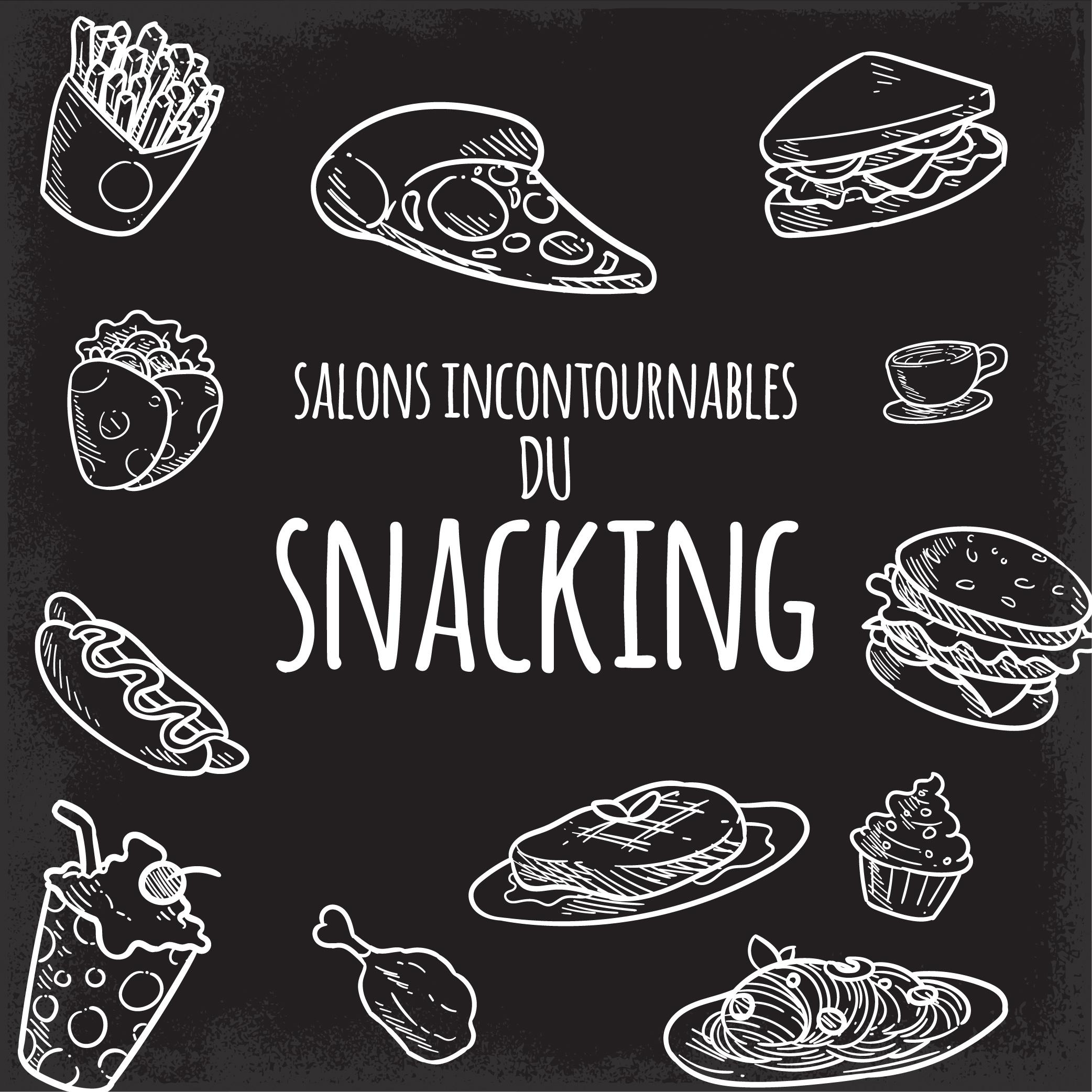 Les salons incontournables du snacking